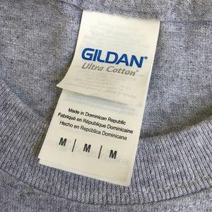 Gildan Tops - Gildan   Vegan Gray T-Shirt
